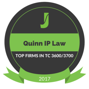 Quinn IP Law Juristat Top 20